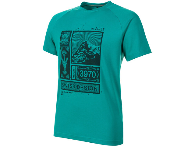 Mammut Mountain T-Shirt Heren, fanfare